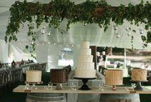 wedding   cake stand + table