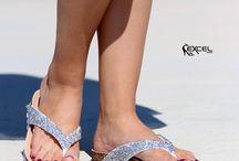 OCEAN || Γυναικεία Flip Flop με Στρας