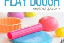 marshmallow playdough