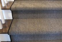 Rug for stairway