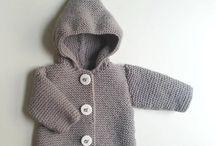 veste laine naissance