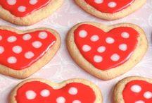 heart cookies with recepies