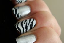 Funky Nails / by Cassandra Clemens