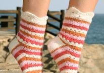 crochet sock, slipper, shoes