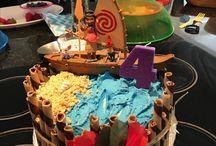 gâteau anniv vaiana