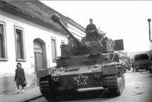 Captured tank