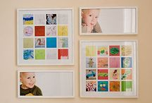Children's art display ideas