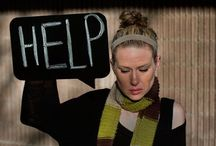 Help / Hey, can we get a little help? A life raft? A push?  It's not always easy to ask for assistance, and as women we pride ourselves on doing it all. We're more willing to aid other people than we are to help ourselves.  But this week we're trying getting the help we need, give you a few helpful hints and even remember the times when we weren't very helpful at all.