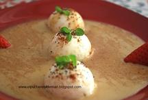 Mis recetas / Estas son las fotos de algunas de las recetas que podréis encontrar en mi blog, El pucherete de Mari. Os invito a mi cocina / by Carmen Lopez Fortea