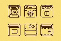 Pictograms / A collection of great pictograms and icons.