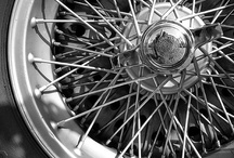 Classic Wire Wheels for Automobiles