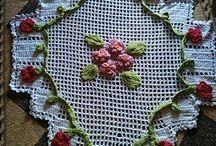Criações do Cantinho da ILZA / Crochê e artezanatos