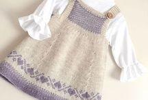 örgü çocuk kıyafetleri