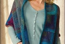 Вязание многоцветное