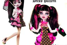 DOLLS - MONSTER HIGH - SEWING FREE