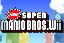 New Super Mario Bros. Wii / A collection of artwork, screenshots and other images from New Super Mario Bros. for the Wii.  Visit http://www.superluigibros.com/new-super-mario-bros-wii.