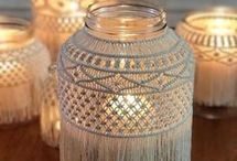 candle holders or decorations