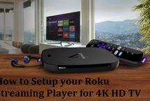 support for Roku.com/link activation