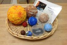 Leden / Jak to vše začalo - planeta Země Vesmír (planety) a souhvězdí