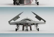 miniature, airplane