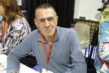 Leonard Nimoy / Leonard Simon Nimoy (/ˈniːmɔɪ/; March 26, 1931–February 27, 2015) was an American actor, film director, photographer, author, poet, singer and songwriter. He was known for his role as Mr. Spock of the Star Trek franchise. Nimoy began his career in his early twenties, teaching acting classes in Hollywood and making minor film and television appearances through the 1950s, as well as playing the title role in Kid Monk Baroni.