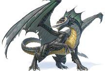 Dragons - Black