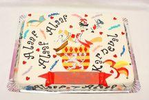 carnival Cake/ Karneval Torten