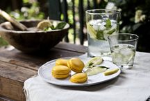 LEMON – SPEARMINT / Macaron with fine lemon mousseline and fresh spearmint. (photo:Dionisis Andrianopoulos, Styling: Anestis Michalis, Photographer assistant: Konstantina Statha)