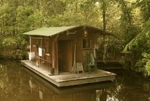 Boat-house...