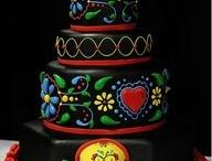 Birthday Cake Ideas / Fun colorful cake ideas