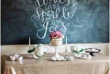 Ideias para mesas de festas