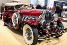Oldtimer / veterán autók, motorok