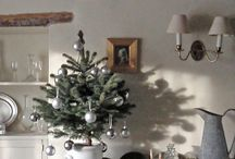 Vintage home - Christmas / Beautiful old and new Christmas ideas