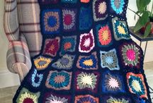 "Crochet afghans: Mood blankets / 6"""