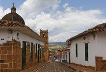 Colombia / Pueblo colonial.