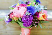 Разноцветная, радужная, яркая свадьба