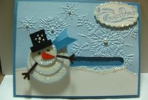 Cards...Christmas...Snowmen