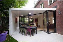 ▲ Uitbouw inspiratie / Ideëen voor de uitbouw van je huis. Heb je ruimte voor een ruime uitbouw, dan is verhuizen niet meer nodig.