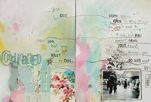 Watercolour Collage