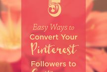 Pinterest Tips / Ideas and tuts for using pinterest / by Grade ONEderful