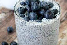 Chia Recipes / Recipes with chia seeds. Chia pudding, chia overnight oats, superfood