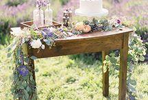 Lavender Wedding Shoot