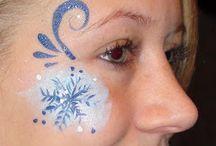 #4 Ansiktsmaling / Facepaint. Snø/ vinter