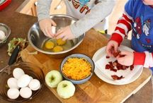 Get Your Kids Cooking! / simple meals that children can cook or help cook