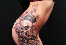 Tattoos  on  Women / Great art work !