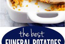 Crunchy potato dish / Vegetable