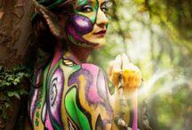 Artistic make up / Body Art /fantasy make up