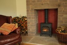 Herefordshire homes with Wood burners I love / Travelling around Herefordshire these are some beautiful Woodburners I have looked at in prototypes for the Woodee.