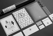 Little bandits branding / Black and white branding by KurkaStudio.