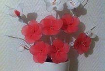 fleur en Nylon